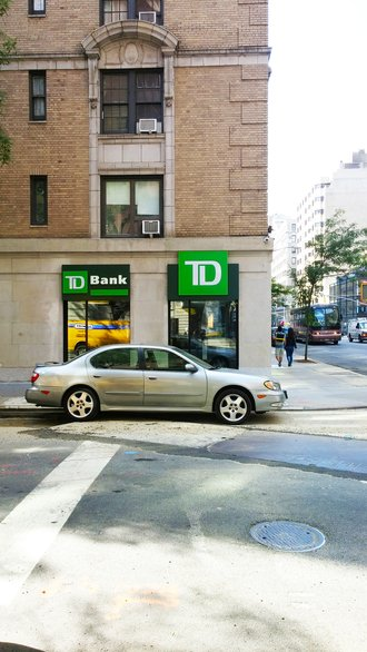 Entrance to TD Bank - New York