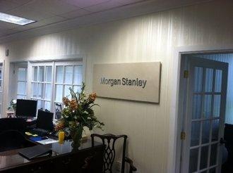 Morgan Stanley Signage