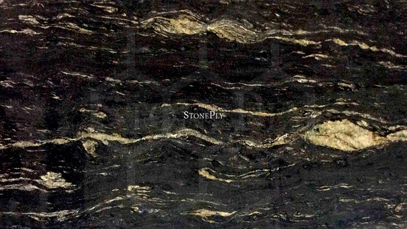 Black Cosmic Granite Stoneply
