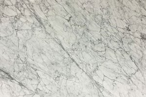 A luxury marble that has shades of white and grey.