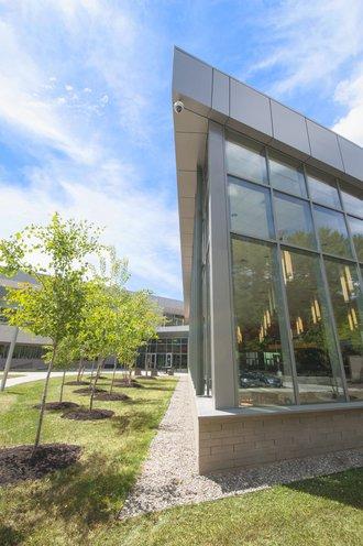 Exterior shot of SUNY Cortland