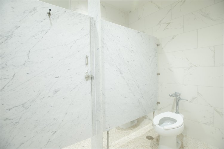 Find beautiful, lightweight, and quality natural stone room partitions at StonePly. Get specifications for our stone bathroom partitions and materials here.
