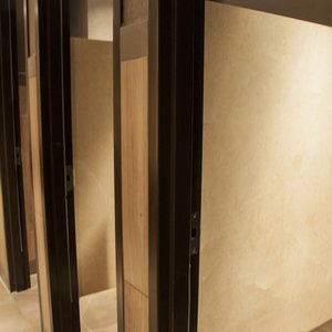 Photo of Bathroom Partitions at CineBistro