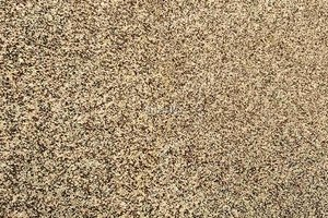 A brown and gold granite with a grained texture.