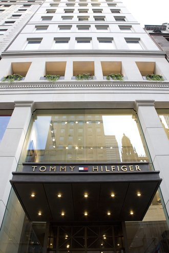 Tommy Hilfiger retail facade