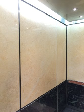 Interior Elevator at Metropolitan Hospital New York