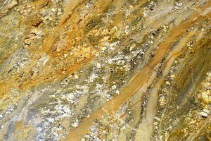 A gold and brown granite.