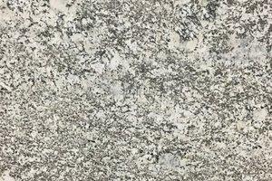 White granite with black veins