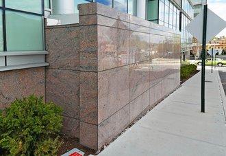 Queens City Hospital Exterior Wall