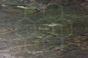 A grey and green granite.