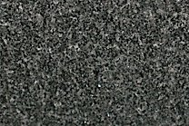 A black granite with white veins.