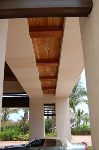 StonePly Panels at Entry at Atlantis Restort, Bahamas