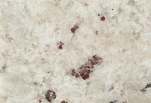 Stones  Bianco Romano Granite  A mostly white granite with burgundy flecks. Bianco Romano Granite   StonePly