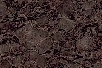 A pinkish brown background on a beige, brown and black granite.