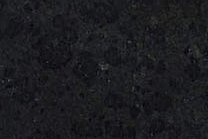 A mostly black granite with specks of grey.