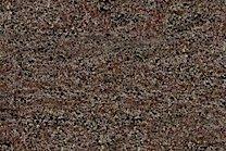 A brown-violet granite with veins.