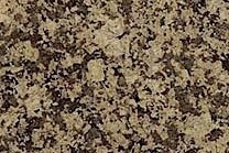 A brown granite with some small black spots.