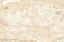 A light beige marble with a white cloud pattern.