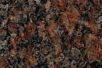 A Brown and red granite.
