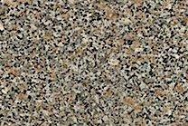 A brown and grey granite.