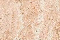 A pink and beige travertine with veins.