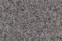 A grey and black granite with fine texture.