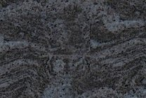 A dark blue and grey granite.